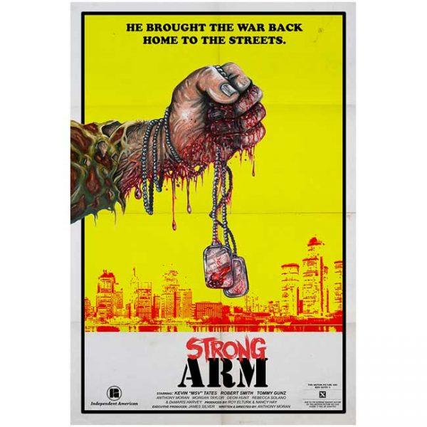 Strong Arm Detroit Poster Yellow