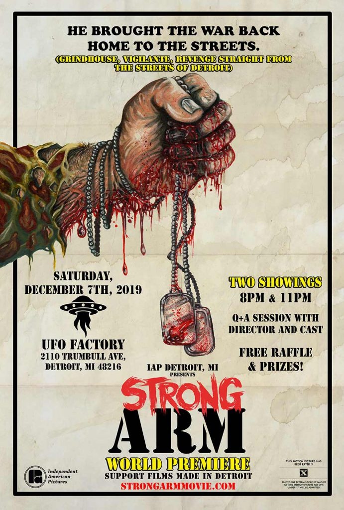 Strong Arm - World Premiere at UFO Factory