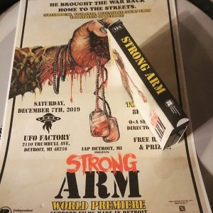 Strong Arm VHS and Poster