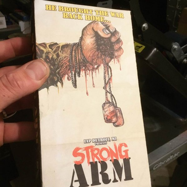 Strong Arm VHS Front