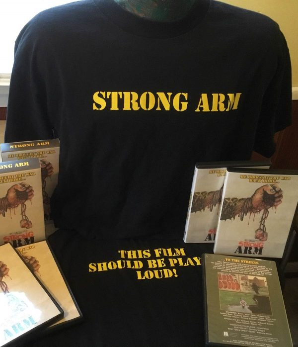 Strong Arm Merch - T-shirts, VHS and DVD
