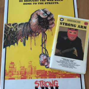 Strong Arm movie VHS Clamshell - Limited Edition
